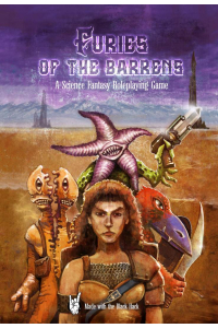 Furies of the Barrens RPG paperback