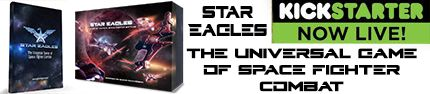STAR EAGLES is LIVE on Kickstarter now