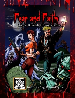 Fear and Faith Horror Miniature Rules, Trade size book