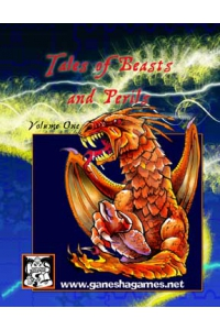 Tales of Beasts and Perils Vol 1, Print Version, Black and White